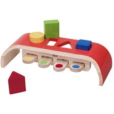 Bouncing Sorter Interactive 5 Piece Color and Shape Discovery Set