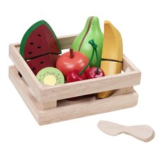 WonderEducation Fruit Basket Play Set