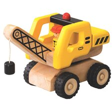 <strong>Wonderworld</strong> Mini Crane Wooden Vehicle Crane