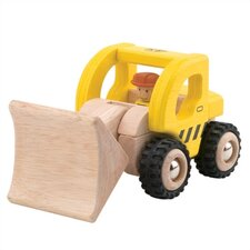 <strong>Wonderworld</strong> Mini Loader Wooden Vehicle Excavator