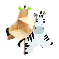 Zebra 2-Step Step Stool