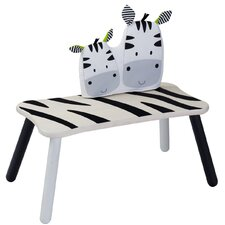 <strong>Wonderworld</strong> Kids' Zebra Long Bench