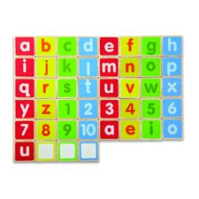 Lower Case abc Alphabet Magnet