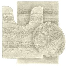 <strong>Garland Rug</strong> Essence Bath Rug (Set of 3)