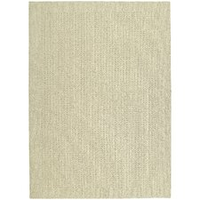 Magic Odor Eliminating Ivory Herald Square Rug