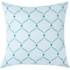 Trellis Cotton Pillow