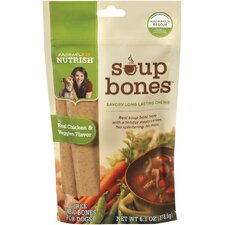 Soup Bones Chicken Dog Treats (8-Pack)