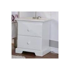Volterra 2 Drawer Nightstand