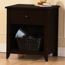 Salerno 1 Drawer Nightstand