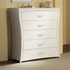 Trieste 5-Drawer Dresser