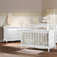 Mantova 4-in-1 Convertible Crib Set