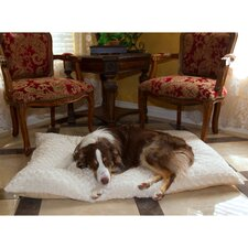 Lavish Cushion Pillow Furry Pet Bed