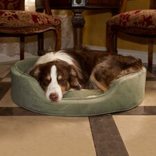 Cuddle Round Bolster Dog Bed