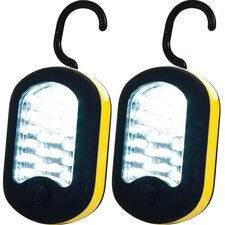 <strong>Trademark Tools</strong> 27 LED Worklight with Magnet Back (Set of 2)