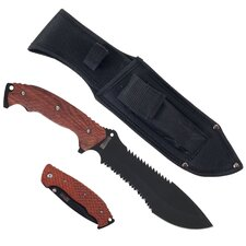 2 Piece Hunting Knife Set