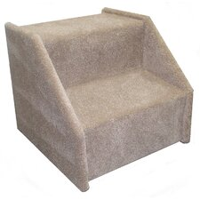 Bear's Stairs™ Mickeys Carpeted 2 Step Pet Stair