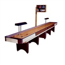 Classic Coin Operated Shuffleboard with Optional Accessories