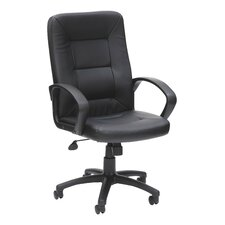 Obsidian High-Back Executive Chair