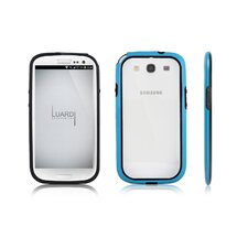Samsung Galaxy S3 Plastic and Crystal Dual Case