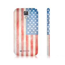 USA Retro Flag Snap-on Samsung Galaxy S4 Case