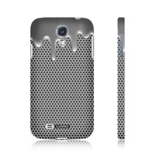 Melted Chrome Snap-on Samsung Galaxy S4 Case