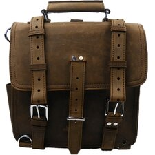 Hiker Leather Laptop Backpack