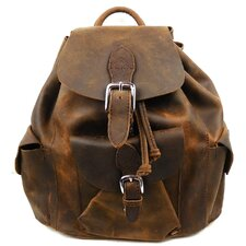 <strong>Vagabond Traveler</strong> Leather Backpack