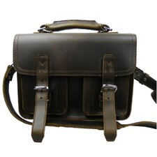 Professional Leather Laptop iPad Briefcase