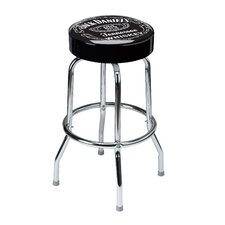 Swivel Label Barstool