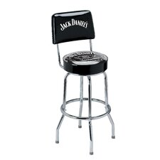 "<strong>Jack Daniel's Lifestyle Products</strong> Swivel Label 30"" Bar Stool"