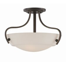Chantilly 3 Light Semi Flush Light