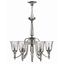 Chandon 6 Light Crystal Chandelier