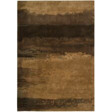 <strong>Calvin Klein Home Rug Collection</strong> Luster Wash Copper Rug