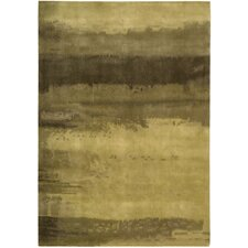 <strong>Calvin Klein Home Rug Collection</strong> Luster Wash Gold Scene Rug