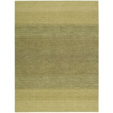 <strong>Calvin Klein Home Rug Collection</strong> Linear Glow Green Rug