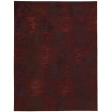 <strong>Calvin Klein Home Rug Collection</strong> Reflective Garnet Rug