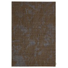 Urban Abstract Brown Bark Area Rug