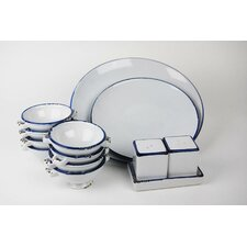 <strong>100 Essentials</strong> Enamel Dinnerware Set