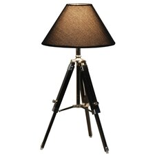 "Tripod 23.6"" H Table Lamp with Empire Shade"