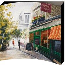 Tea Room Painting Print