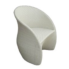 Circle Dining Arm Chair with Cushion