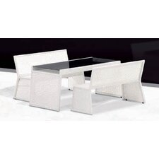 <strong>100 Essentials</strong> Palace 3 Piece Dining Set