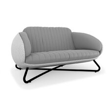 <strong>100 Essentials</strong> Circle Loveseat with Cushions