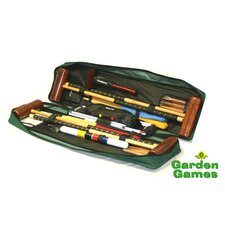 Townsend 4 Player Croquet Set with a Tool Kit Bag
