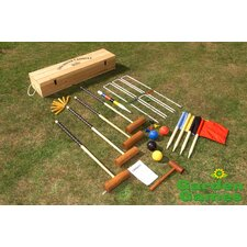 Townsend 4 Player Croquet Set in a Box