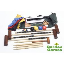 Townsend 4 Player Croquet Set in a Bag