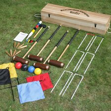Hurlingham 4 Player Croquet Set in a Box