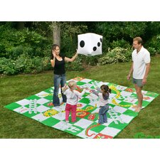 Giant Snakes and Ladders Game