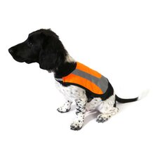 Reflective Dog Coat in Orange