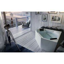 "<strong>Glass by Nameeks</strong> Eden 60"" x 60"" Corner Bathtub"